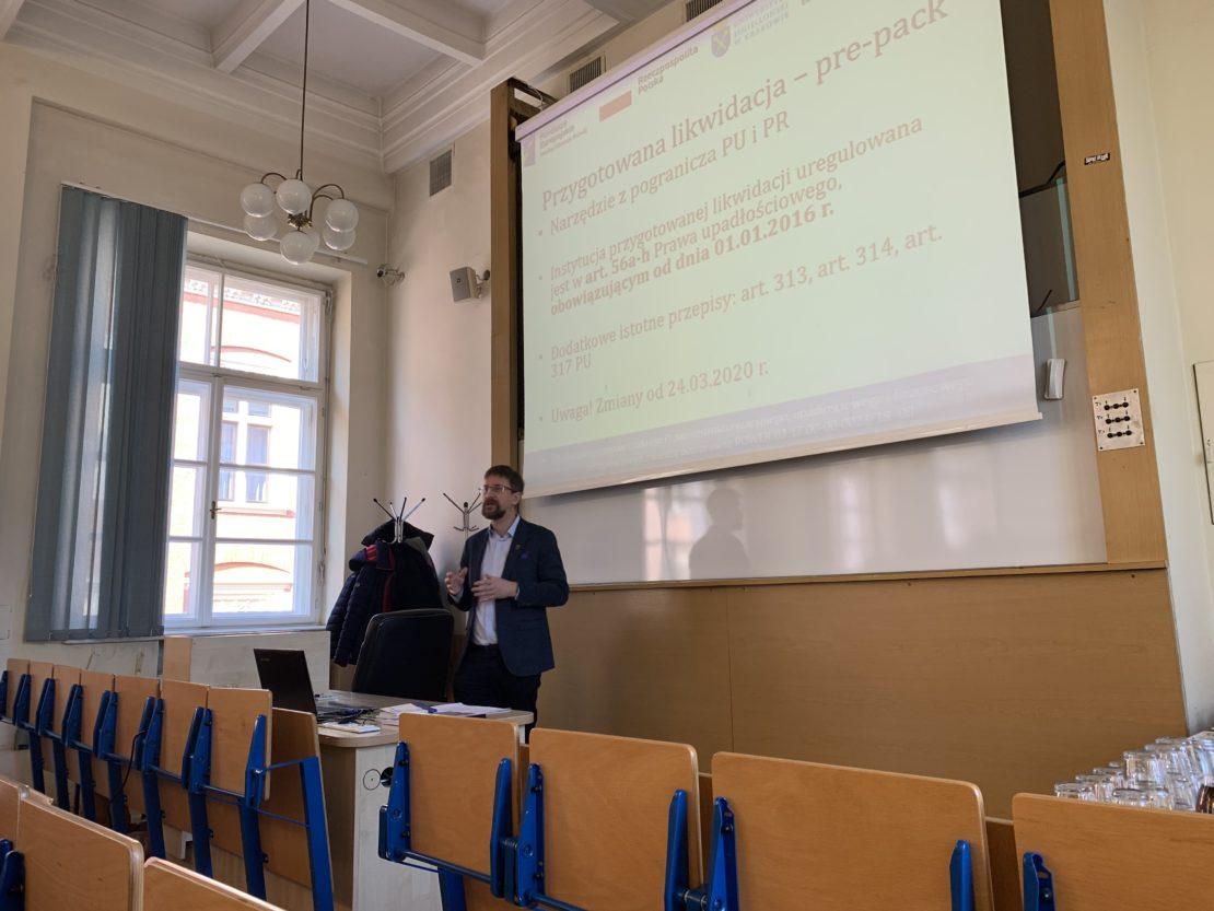 wykład Karola Tatary na studiach podyplomowych
