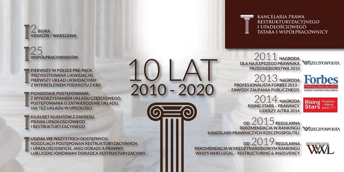 10-cio lecie Kancelarii Tatara